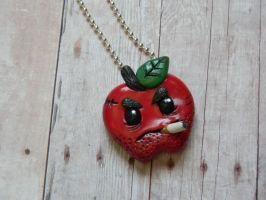 Rotten Apple Necklace by ThePetiteShop
