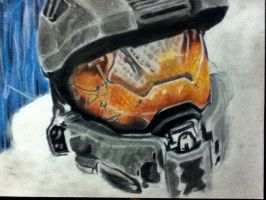 Master chief WIP nearly done by poisonnova
