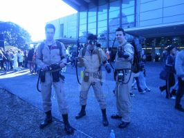 Ghostbuster's at Supanova by Yugi-Dan-Yami