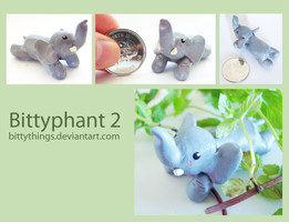 Bittyphant 02 - SOLD by Bittythings