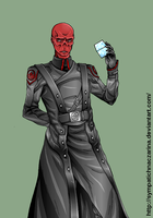 The Red Skull by Michelangeline