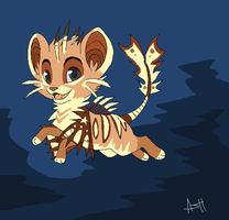 Tigerfish OC by Lost-Mutt