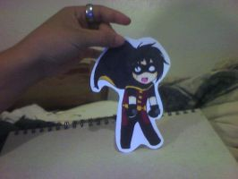 Tim Drake paper child by Catgirlemi7