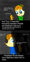 The Beautiful Story of Pewdiepie and Stephano by Dragonsong3