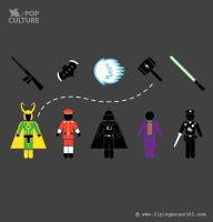 FM Pop Culture 010 - Choose Your Weapon And Fight by flyingmouse365
