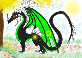 Dragon for DancesWithFoxes by Dragon-Warrioress