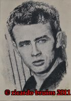 james dean by ricardo-bruins
