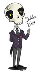 Skeleton Butler by XombieJunky