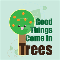 Good Things Come in Trees by kimchikawaii