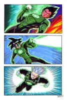 Green Dragon Lantern Ball Z by mauriliodna