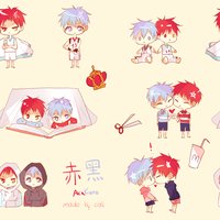 knb: akakuro pattern by califlair