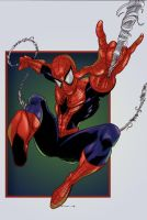 Spiderman Pinup by teach