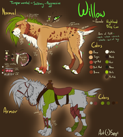 Willow Ref  by SpytDragonFyre
