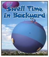 BAI - Swell Time in Backyard title comic cover by Magic-Kristina-KW