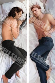 Stucky Body Pillow Design by Brilcrist