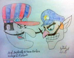 It's DICK WALUIGI TIME! by tails-zet