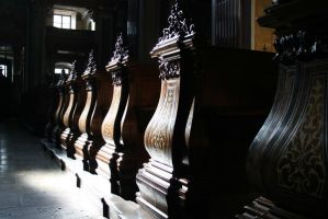 church benches by alexci