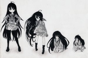 Shana Age Regression (request for mikewolfskin) by Midori0310