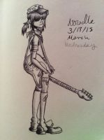 Noodle pen shading by Themakaxkid