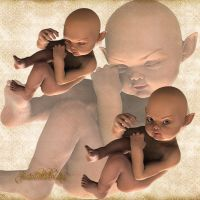 Fae Infant-Fetus by Just-A-Little-Knotty