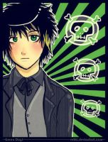 Billie Joe anime :3 by RetkiKosmos
