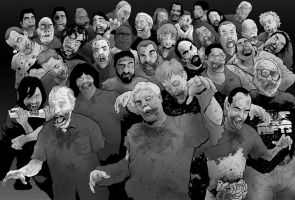 Freelance Zombies by Mumah