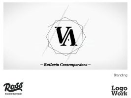 logo work - victor abudul by ross-marisin