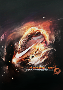 NIKE MERCURIAL 2012 - BURN THE PASSION by criticalGFX