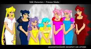 NSG Unconventionalsenshi Style by chibialvin