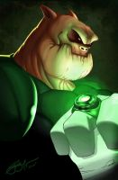 Kilowog profile by gidge1201
