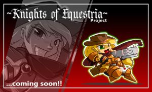 Mlp KNIGHTS OF EQUESTRIA : APPLEJACK teaser by ShoNuff44