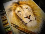 Lion (Photo version) by Andrew-Willson