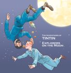 Tintin and the Explorers on the Moon by monster3x