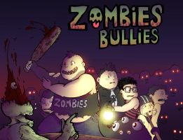 Zombies bullies by Sea-Snail-Studio