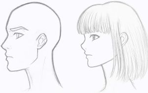 Profile Sketches by DivineSaint