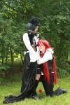 Grell x Ciel - Comfort by Midnight-Dance-Angel