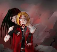 FMA : Blood in the air by VulpesLesya