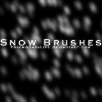 Snow Brushes by ObscureLilium
