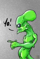 Y0 Alien by CoopahCraft