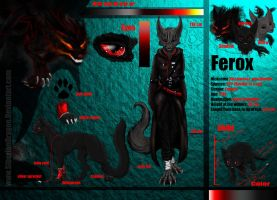 Ferox reference sheet by SiberianDragon