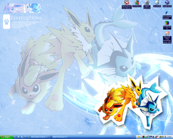 Pokemon Desktop XD by Kida-Ookami