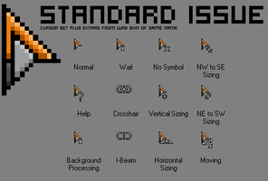 standard issue cursors by asbestos
