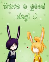 Have a good day by AkasunaKage