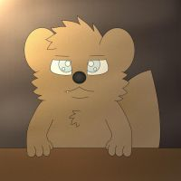 Art: Sad Otter Remake by TheWTFage