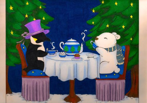 Arctic Tea Party by OmegaDevin