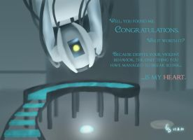 GLaDOS by Hopesfirexx