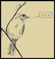 speech bubble bird by iforgotmypassword