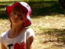 Australia Day Girl by Labrug