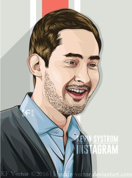 Kevin Systrom by Khrddn-vector