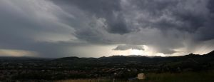Afternoon Storm by shear-atmos-fear